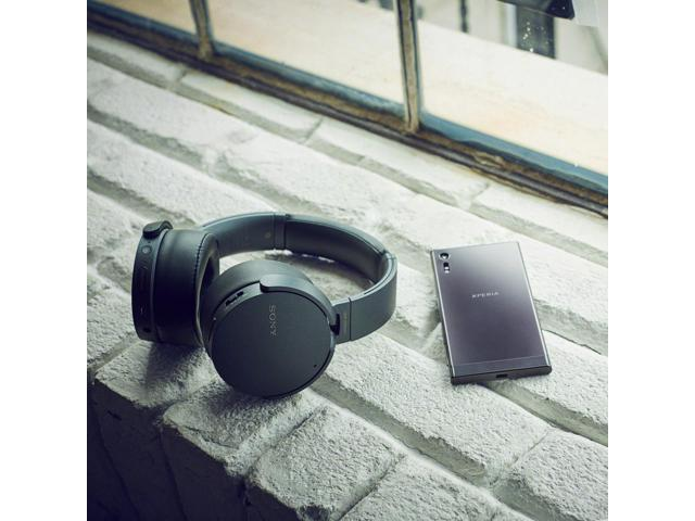 7ae9bb7f0ec Sony MDR-XB950N1 Wireless Noise-Cancelling EXTRA BASS Headphones with Mic  (Black) - Newegg.com