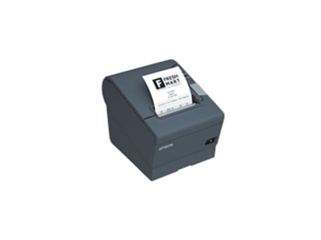 Refurbished: Epson C31CA85084 TM-T88V Direct Thermal Receipt Printer -  Monochrome - Serial, USB - Dark Gray - Newegg com