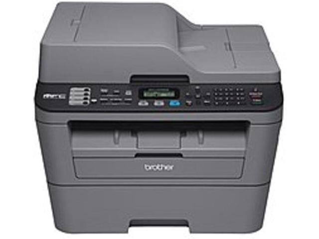 Brother MFC-L2700DW Compact All-in-One Monochrome Laser Printer - 27 ppm Black - Up to 2400 x 600 dpi - 35 Sheets Capacity - Wi-Fi - Hi-Speed USB 2.0 - AC 120V