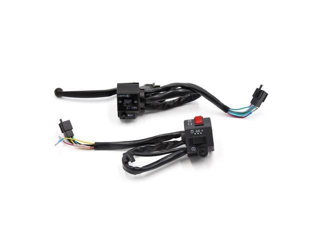 7  8 u0026quot  motorbike handlebar switch kit horn turn signal light