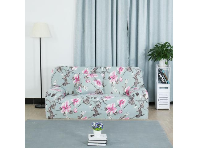 Stretch Sofa Cover Loveseat Couch Slipcover, Machine Washable, Stylish  Furniture Protector With One Cushion