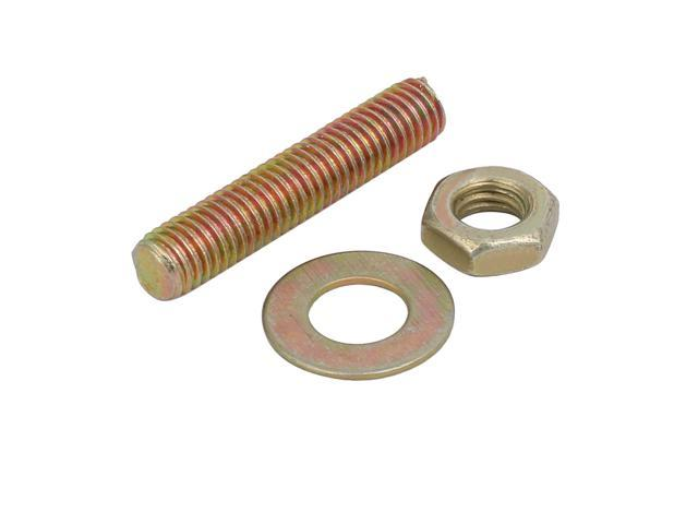 M12 x 90mm 8.8 HT Bolt pack with Lock Nut /& washers *MULTI-BUY DISCOUNTS*