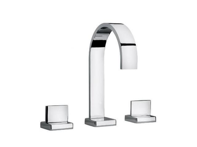 7 Faucet Finishes For Fabulous Bathrooms: Jewel Faucet 15102-82 Two Lever Handle Roman Tub Faucet