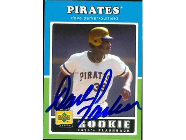 Autograph Warehouse 46948 Dave Parker Autographed Baseball Card Pittsburgh Pirates 2001 Upper Deck Decade Rookie Flashback No 107 Neweggcom