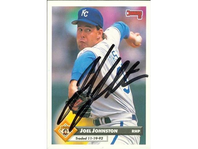 Autograph Warehouse 46675 Joel Johnston Autographed Baseball Card Pittsburgh Pirates 1993 Donruss No 791 Neweggcom