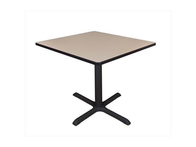 Regency tb3636be 36 in square cain lunchroom table for International decor outlet regency square mall