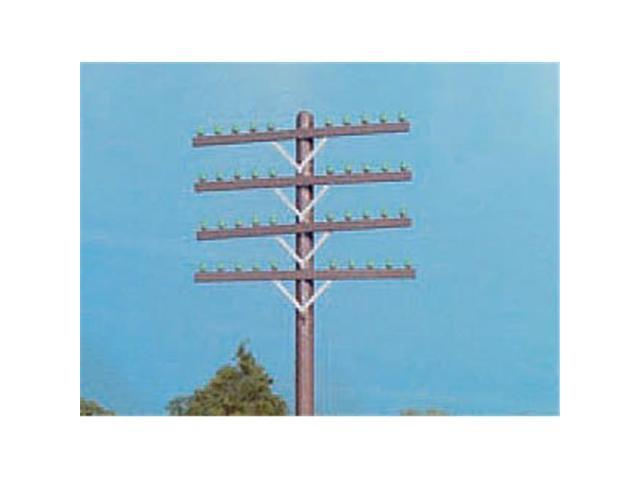 Rix Products RIX31 HO Scale Telephone Pole Crossarms, Brown - Set of 72 -  Newegg ca