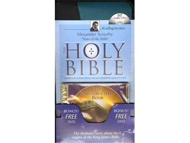 Casscom Media 131163 Audio CD - KJV Complete Bible With Indestructible Book  DVD - 60 CD - Newegg com