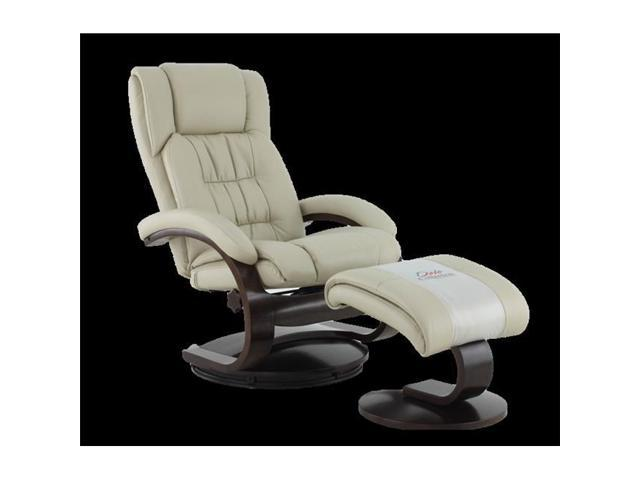Superb Mac Motion Chairs 51 97 625 Oslo Collection Beige Breathable Air Leather Swivel Recliner With Ottoman Newegg Com Inzonedesignstudio Interior Chair Design Inzonedesignstudiocom