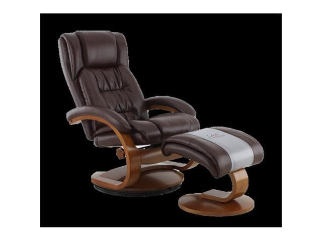 Mac Motion Chairs 51 99 103 Oslo Collection Whisky Breathable Air Leather  Swivel Recliner
