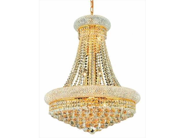 Pwg Lighting By Pecaso 1530d24g Ss Adele Swarovski Str Element Crystal Chandelier Gold Newegg