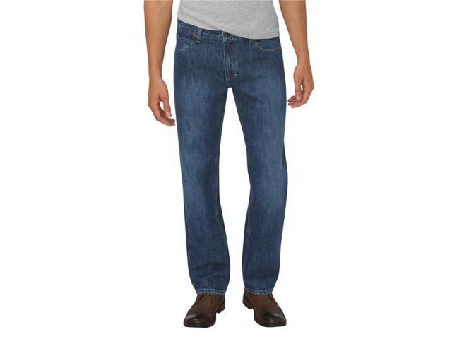 Dickies XD740HMI 30 30 Mens Relaxed Fit Straight Leg 5 Pocket Jean,  Heritage Medium Indigo e66d54d0a7