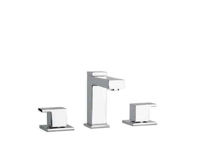 7 Faucet Finishes For Fabulous Bathrooms: Jewel Faucet 12214-82 Two Lever Handle Widespread Lavatory