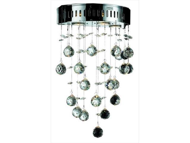 PWG Lighting - Lighting By Pecaso 6895W12C-SS Bernadette Strass Element  Crystal Wall Sconce, Chrome - Newegg com