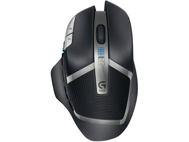 Logitech G602 Lag-Free Wireless Gaming Mouse – 11 Programmable Buttons, Up  to 2500 DPI - Newegg com