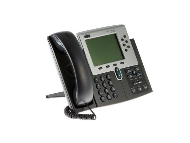 Refurbished: Cisco 7960G Six Line Unified IP Phone (SIP), CP-7960G,  Lifetime Warranty - Newegg com