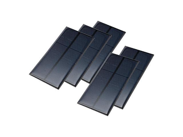 5Pcs 7 5V Poly Mini Solar Cell Panel Module DIY for Phone Toy Charger  110mmx55mm - Newegg com
