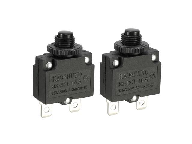 Global Bargains 2 Pcs Air Compressor Replacement Overload Protection  Circuit Breaker - Newegg com