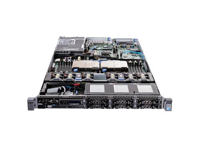Dell PowerEdge R610 Server - Xeon E5620 2 4GHz 4GB No HDD 2 5