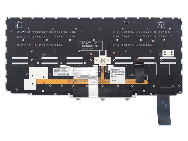 NEW//Orig Lenovo ThinkPad T470 US Backlit Keyboard 01AX487 01AX528 01AX569 Black