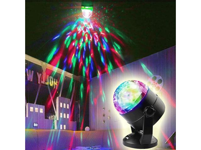 Multi Colored Christmas Lights Mini Led Crystal Disco Ball Light Party Stage
