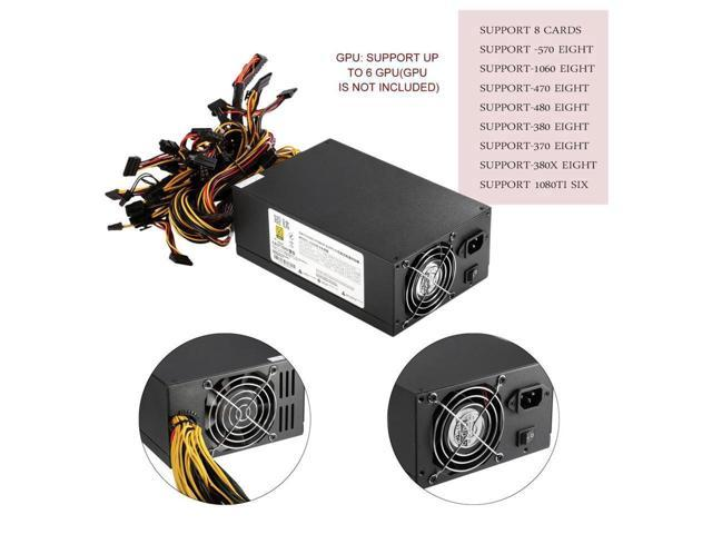 Professional AntMiner APW3++ PSU 2350W Mining Machine Power Supply ...