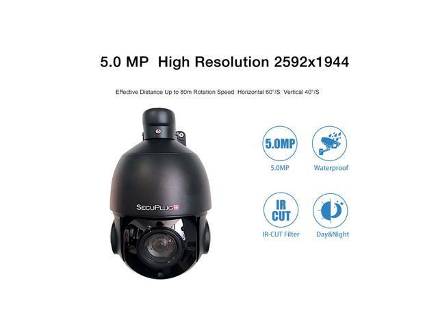 Ptz Ip Camera H.264//H.265 Onvif 4 Megapixels Ir 80M Ip66 Full 1080P Pan Tilt 18X