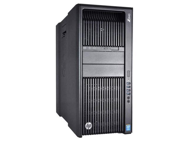 Refurbished: HP Z840 Workstation - 2 x E5-2695 v4 2 10 GHz 18 Core - 64GB  RAM - 1 x 512GB SATA SSD - NVIDIA Quadro P4000 8GB GDDR5 Graphics Card -  Win