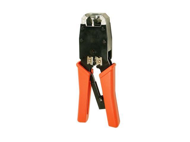 Cable Crimper Tool RJ45/RJ11 Modular Plug Cat5e/Cat6 Network LAN ...