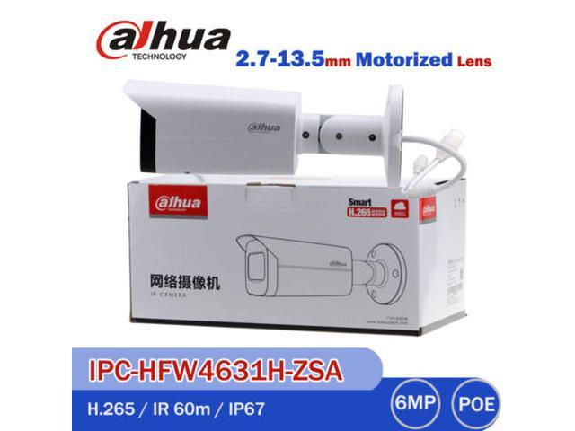 Dahua 6MP IPC-HFW4631H-ZSA Mic Motorized Bullet IP IR Camera Update  HFW4631F-ZSA - Newegg com