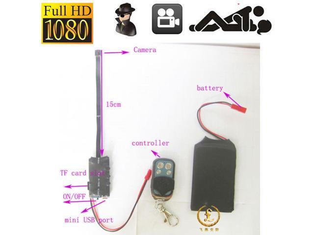 Hd Diy Module Spy Hidden Camera Video Mini Dv Dvr Motion Remote Control 1080p