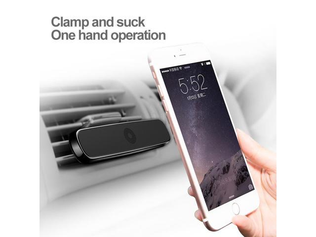 5c2d5929cbda9b Baseus Magnetic car holder mount air vent Mobile phone holder support for  iPhone 5s 6s car
