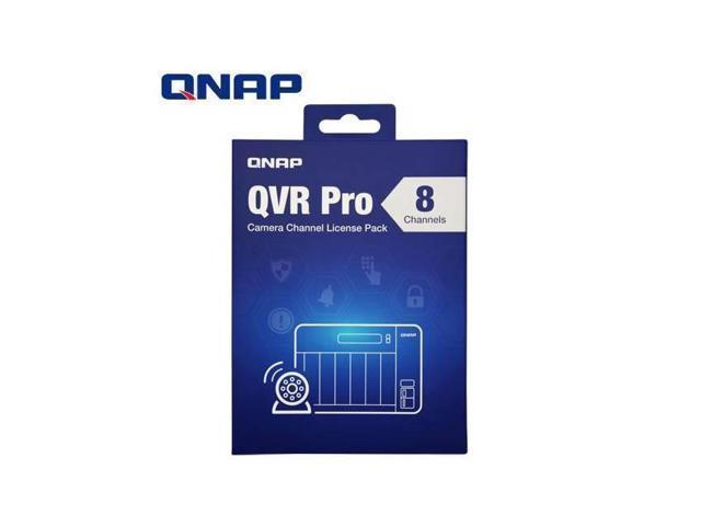 QNAP LIC-SW-QVRPRO-8CH QNAP QVR Pro 8 Channel License (QVR Pro Gold is  Required) - Newegg com