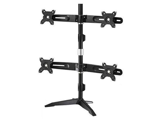 "Quad Monitor Stand by Amer Mounts. Supports four 24"" monitors. VESA Compatible"