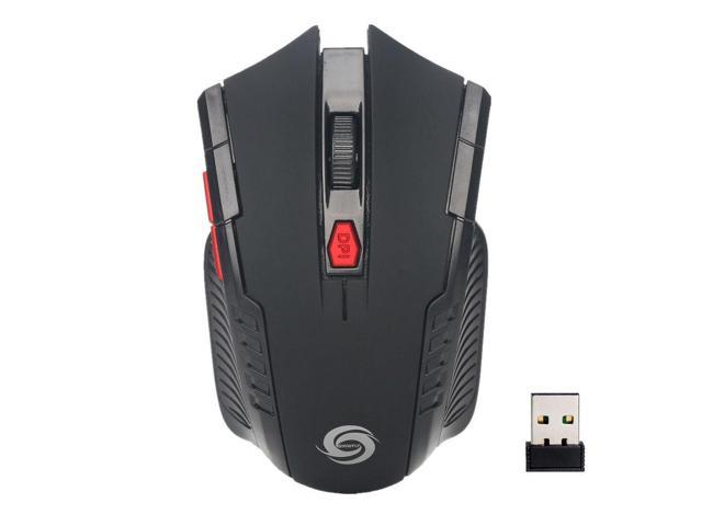 Mini Portable 2.4GHz Wireless 6D Optical Gaming Mouse For PC Laptop Receiver