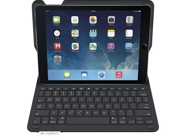 Refurbished Logitech Type Wireless Keyboard Folio Cover Case For Apple Ipad 6 2018 A1893 A1954 9 7 Newegg Com
