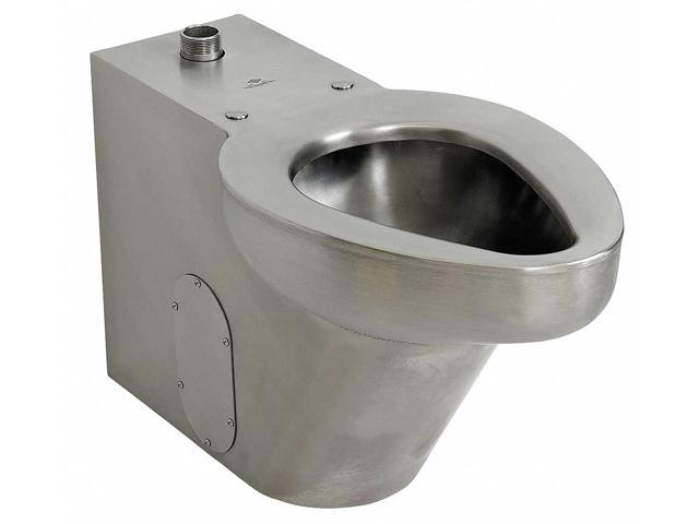 Dura-ware Floor Mount Flush Valve Toilet 1-1/2 NPT Connection, Satin  R2141-T-3 - Newegg com