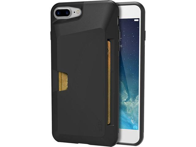 new styles 6f63f c54ec Silk iPhone 7 Plus/8 Plus Wallet Case - VAULT Protective Credit Card Grip  Cover -