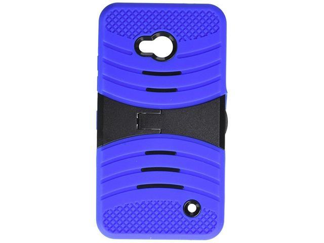 low priced 4475a 36b27 Asmyna Cell Phone Case for MICROSOFT Lumia 640 AT&T/Cricket - Retail  Packaging - Black/Blue - Newegg.com