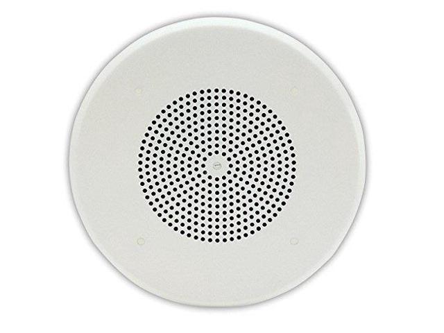 """Valcom V-1020c 1 Watt 1 Way 8/"""" Ceiling Speaker v1020c"""