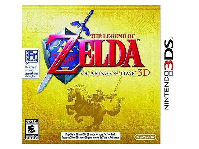 the legend of zelda: ocarina of time 3d nintendo 3ds - Newegg com