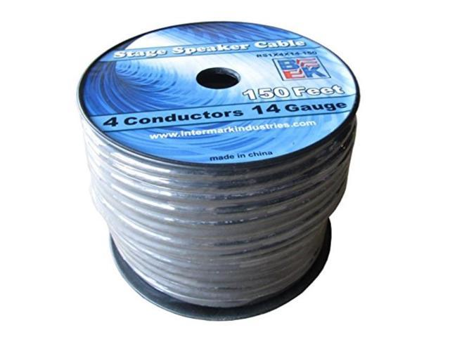 blast king irs1x4x14150 150feet stage speaker cable 14 gauge 4 cond ...