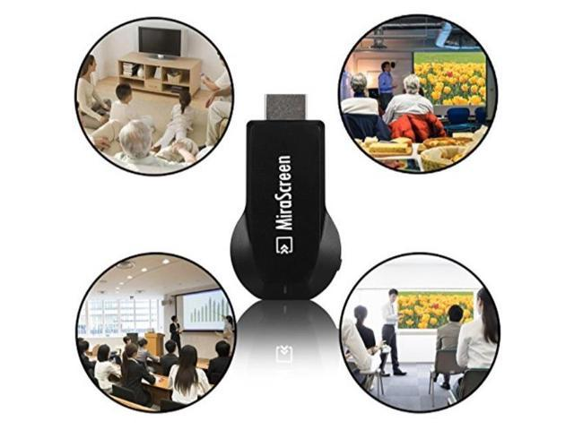 gpct mirascreen dongle full hdmi wifi 1080p tv stick receiver media  miracast display adapter air play/streams video/web surfing/live camera  sharing