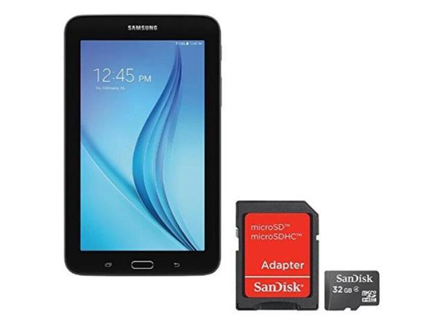 samsung newest galaxy tab e lite flagship 7 inch tablet | spreadtrum tshark  quadcore | 1gb ram | 8gb | gps enabled | microsd slot | android 4 4 kitkat