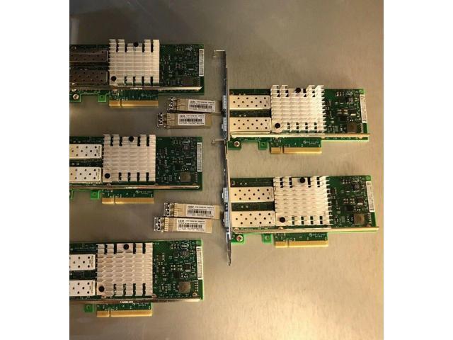 Refurbished: IBM Intel X520-DA2 Dual Port 10GbE SFP+ NIC X520-DA2-IBM PCI-e  - Newegg com