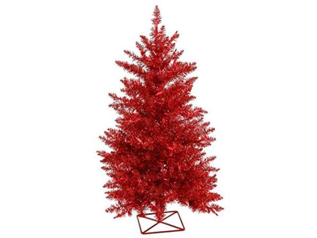 "2' X 23"" Red Tree With 35 Red LED"
