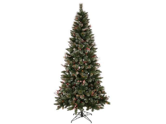 "6' X 36"" SnowTip Berry Tree With 250"