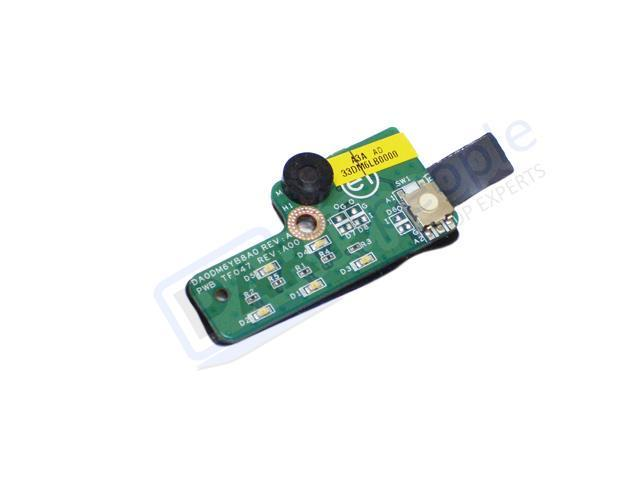 Dell OEM Latitude D520 D530 LED Power Button On Switch Circuit Board -  Newegg com