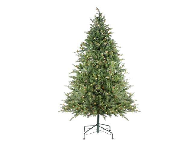 9' Pre-Lit Hunter Fir Full Artificial Christmas Tree