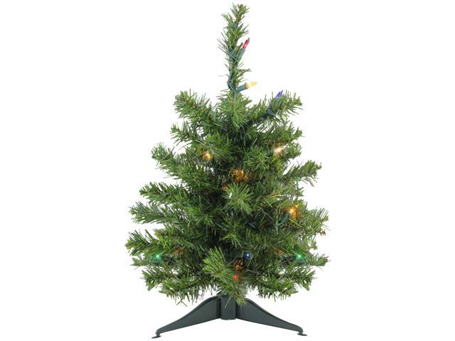 "18"" Pre-Lit Canadian Pine Artificial Christmas Tree"
